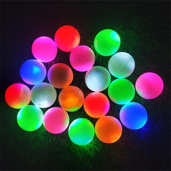 Glow Led Golf Balls Light up Long Lasting Bright Night Sport