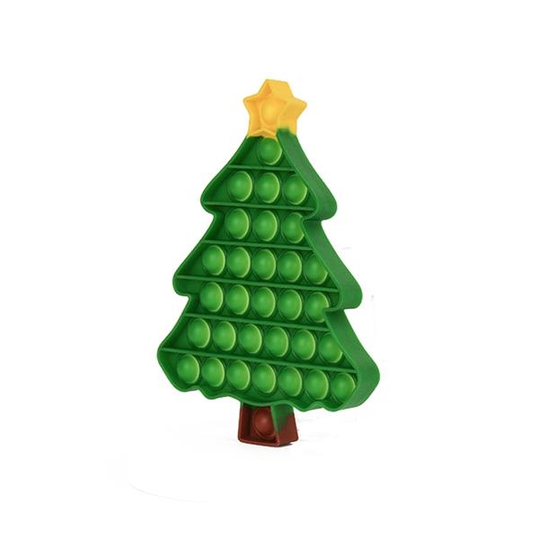 Small Christmas Tree Push Pop Fidget Toy