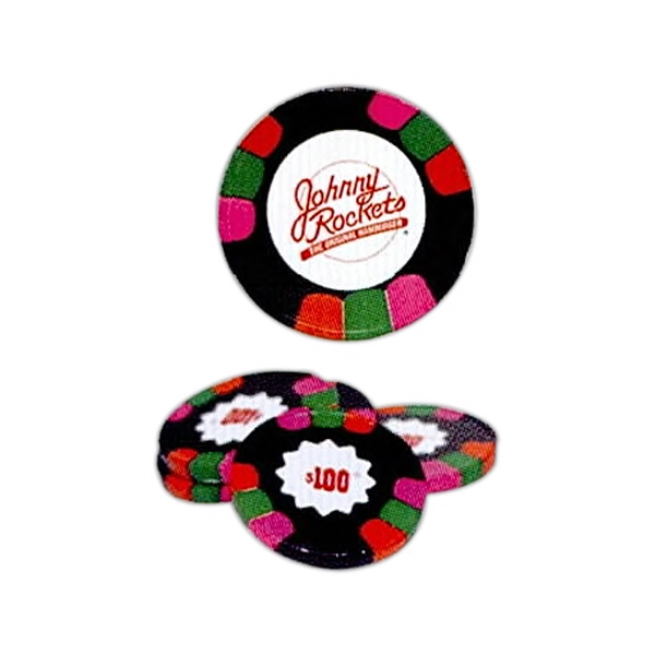 Dark Mint Chocolate $100 Poker Chips Photo