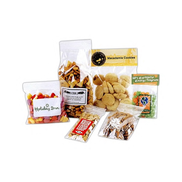 Cellophane Bag With Butterscotch, Sour Balls, Spice Drops Or Fruit Sours Candy Photo