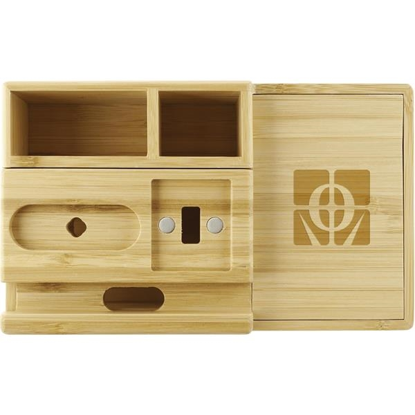 Bamboo Fast Wirelsss Charging Dock Station