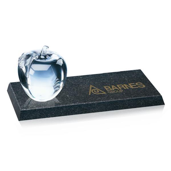 Apple Award on Granite Base