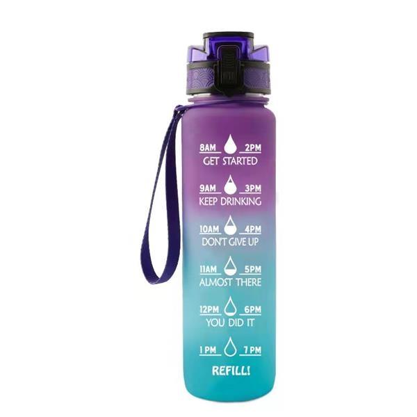 Custom Plastic Sports Bottle