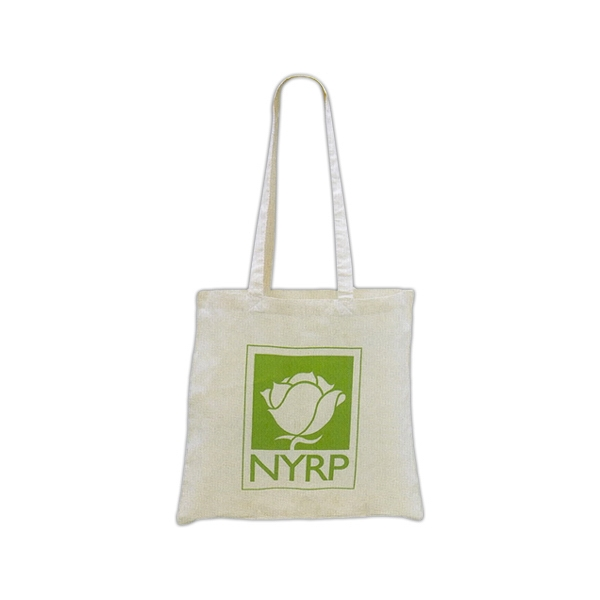 "Cotton Natural Color Tote Bag With Long Handles, 1"" Wide X 30"" Overall Photo"