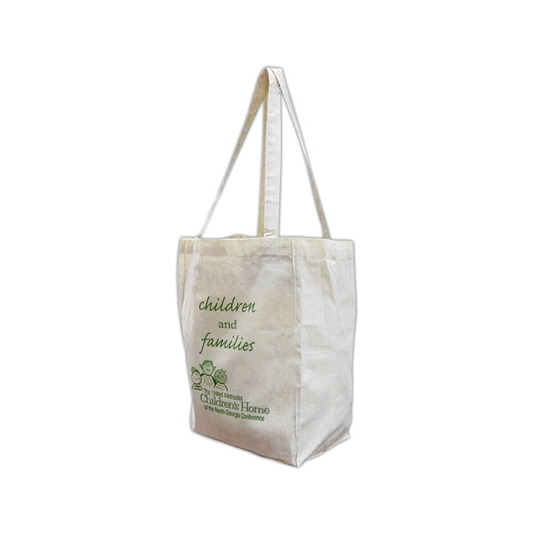 Natural Color Market Bag, Made Of 100% Thick Cotton Material Photo