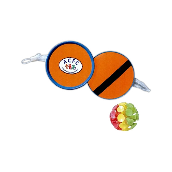 Orange - Suction Ball Game With Two Catchers, Suction Ball And Carrying Net Photo