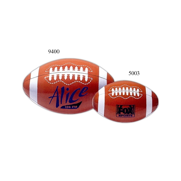 "Inflatable 16"" Beach Ball With Football Design Photo"