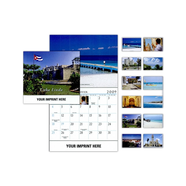 Cuba Linda - Wall Calendar With Scenes Of Cuba Photo
