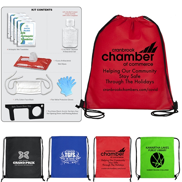 Ready for fall easy to carry backpack safety kit