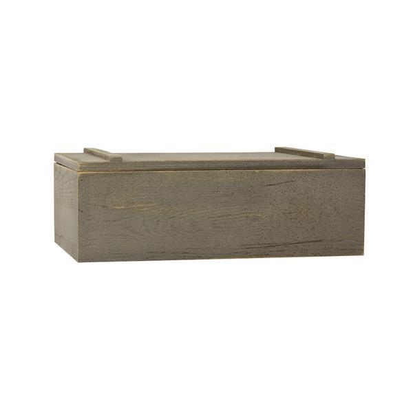 "14"" x 9"" x 4.5"" Wooden Gift Box"