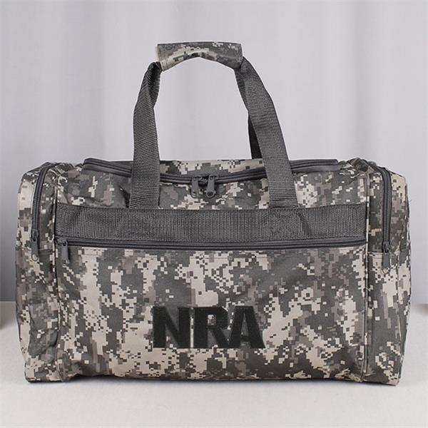 Oversized Rectangular Duffle Camouflage Travel  Bag