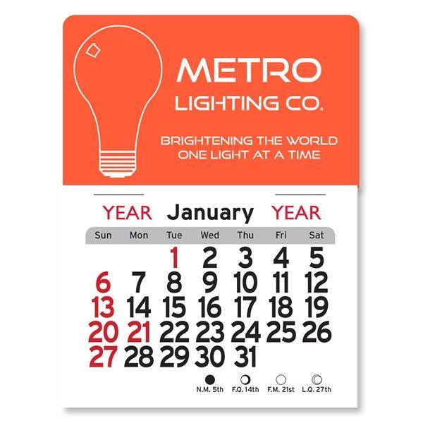 Light Bulb Peel-N-Stick® Calendar