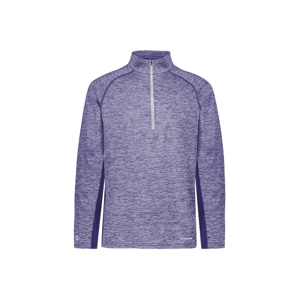 Holloway Youth Electrify CoolCore® Quarter-Zip Pullover