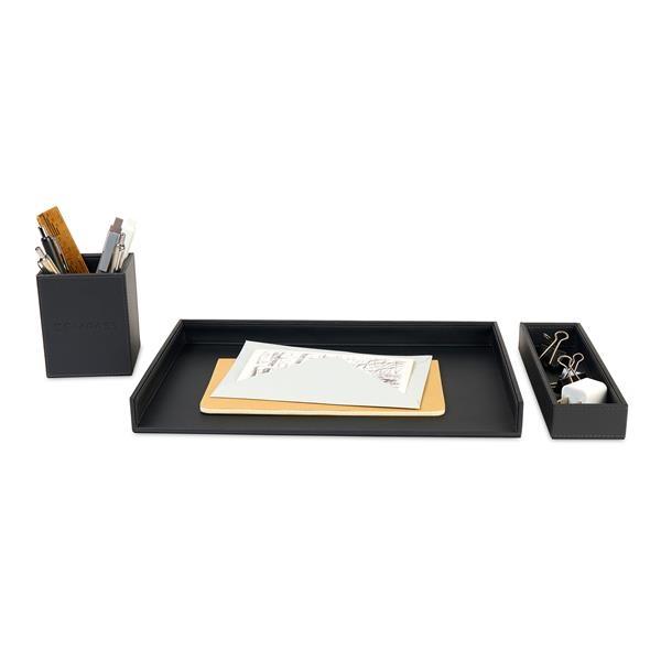Easton 3 Piece Desktop Organizer Set
