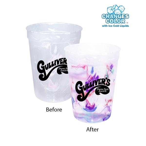 12 oz. Rainbow Confetti Mood Cup