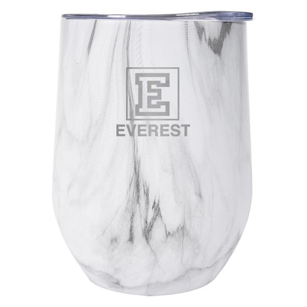 12 Oz. Marble Stemless Wine Cup