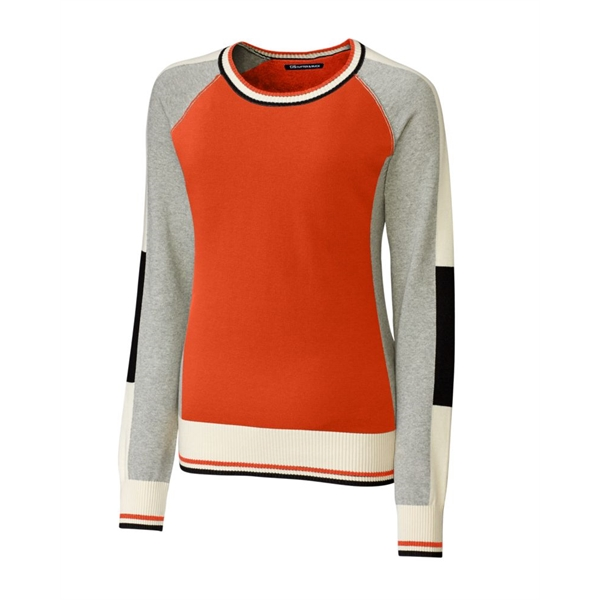 Womens Stride Colorblock Sweater