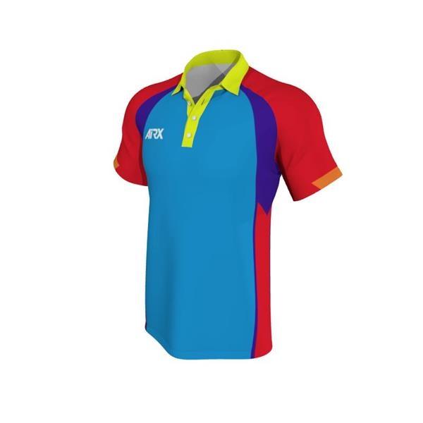Sporty Men's Raglan Polo w/Moisture Wicking & Wear Resistant