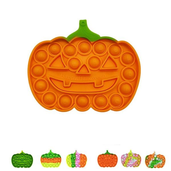 Halloween Pumpkin Pop Fidget Sensory Toy