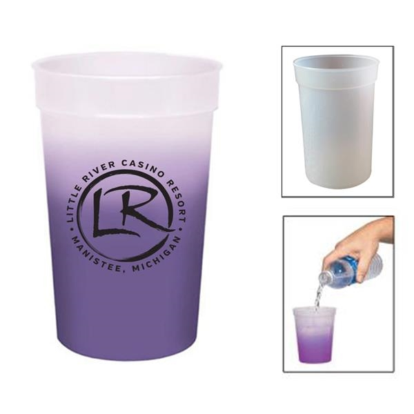 Promotional Color Changing Plastic Mug