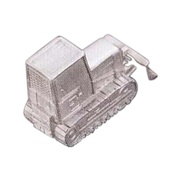 Blank Goods. Bulldozer Metal Casting Photo
