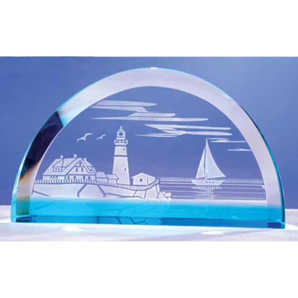 Optical Crystal Scene-blue Award Photo