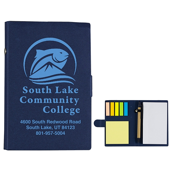 Lansing Sticky Notes, Flags and Pen Notepad Notebook