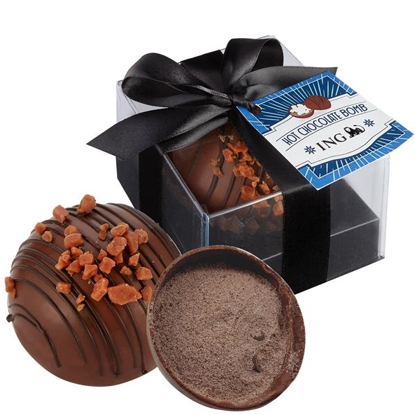 Hot Chocolate Bomb with Hang Tag - Grand Toffee Mocha