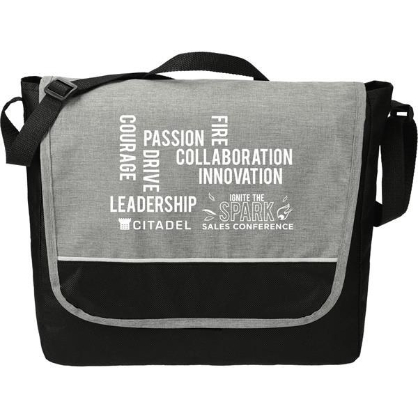 Stone Messenger Bag