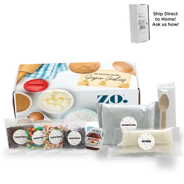 Bake Your Own Sugar Cookie Decorating Kit in Mailer Box