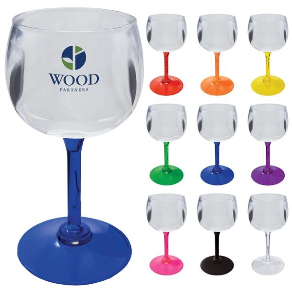 Plastic Goblet - Standard or Short Stem