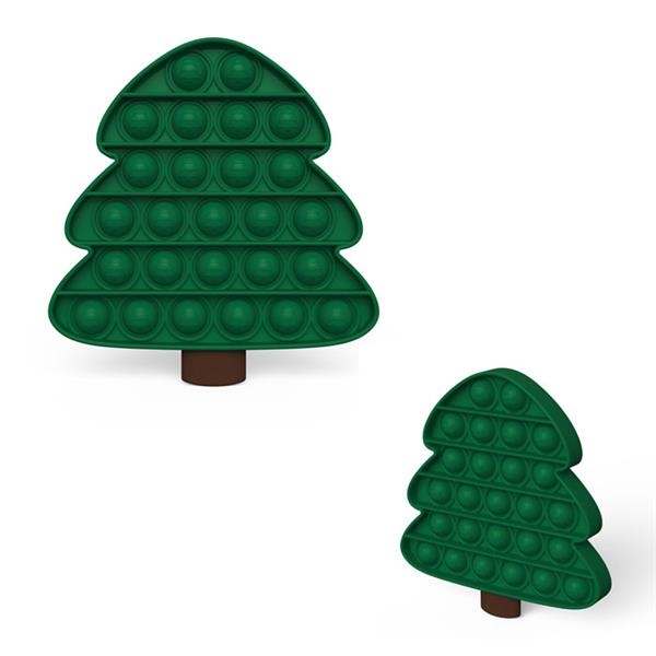 Christmas Tree Fidget Toy Pop It Bubble