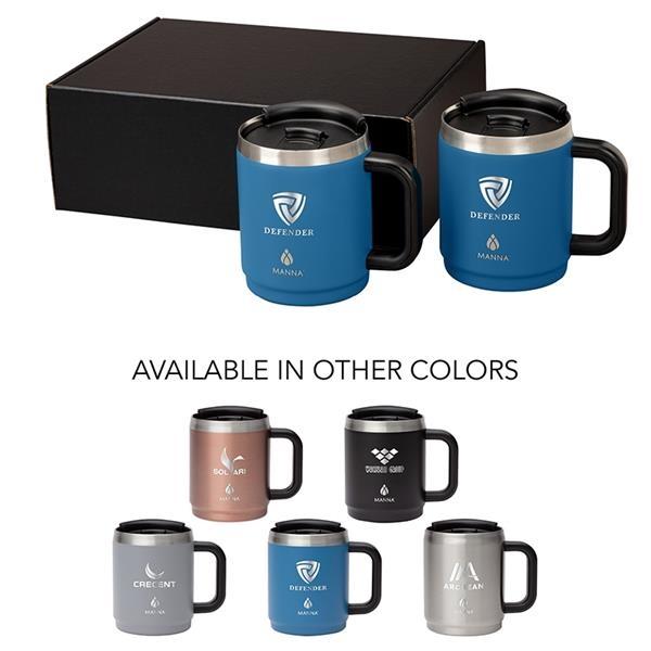 Manna™ Boulder Two-Piece Camping Mug Gift Set