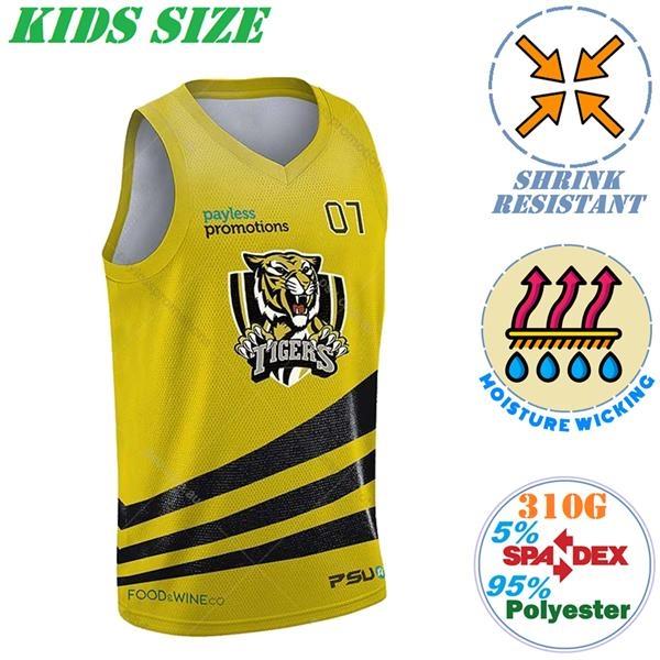 310G Fleece Kids Vests, Moisture Wicking & Shrinkproof Tanks