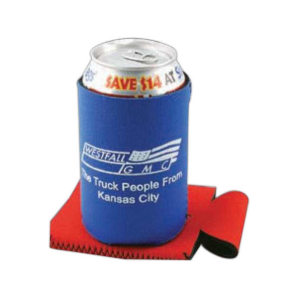Pocket Pal - Neoprene Collapsible Insulator Beverage Container Holder Photo