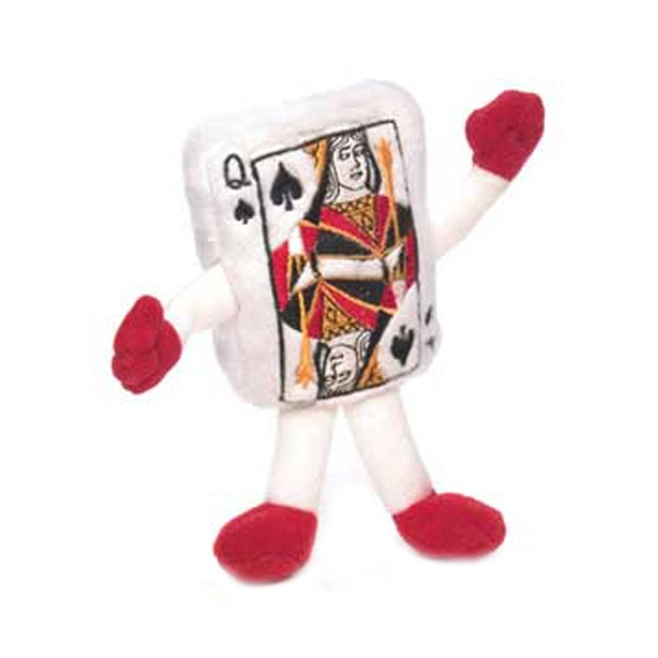 "6"" Playing Card - Queen"