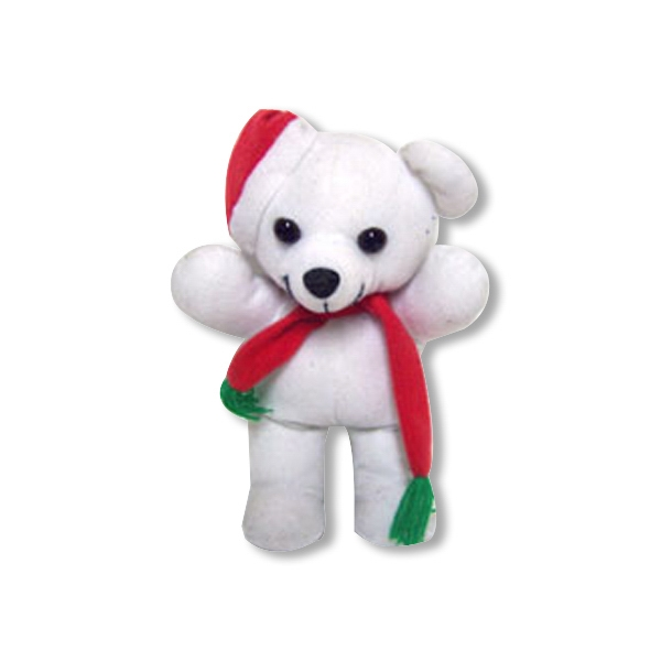 "8"" Custom Christmas Bear Toy"