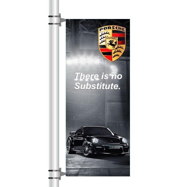 Tradeshow Custom Event Advertising Pole Banner - Pole banner.