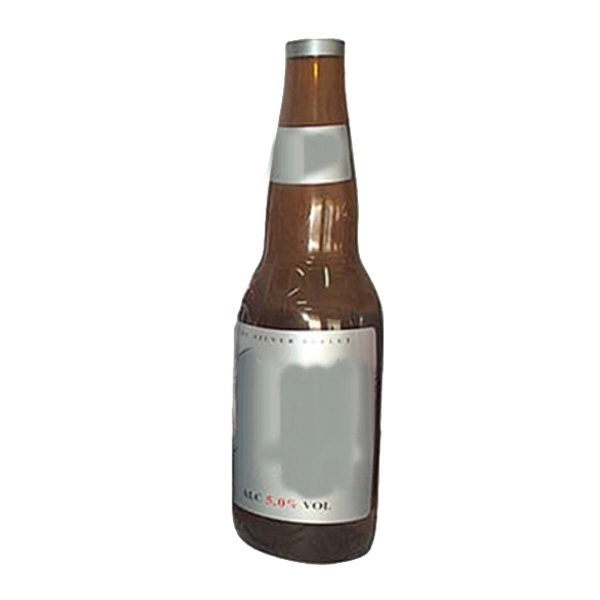 Air Sealed Balloon Inflatable in the Shape of Beer Bottle - Air sealed balloon inflatable in the shape of a beer bottle.  Inflatable Outdoor.