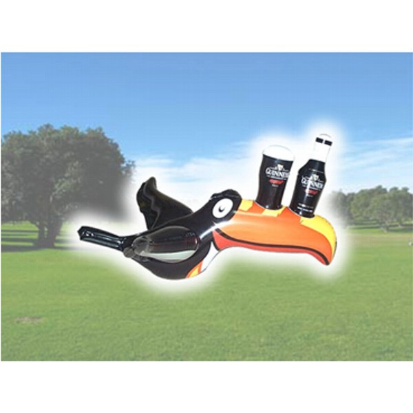 Air Sealed Balloon Inflatable in the Shape of Toucan Bird - Air sealed balloon inflatable in the shape of a toucan bird.