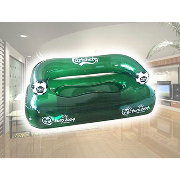 Air Sealed Balloon Inflatable in the Shape of Couch - Air sealed balloon inflatable in the shape of an inflatable couch.