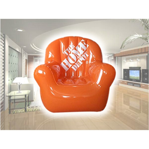 Air Sealed Balloon Inflatable in the Shape of Chair - Sealed balloon inflatable in shape of chair. Inflatable Advertising Large Balloon.