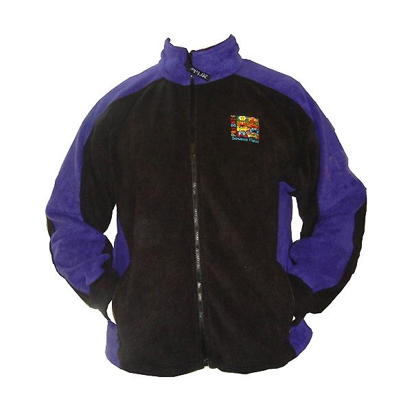 Polar fleece youth two-tone jacket