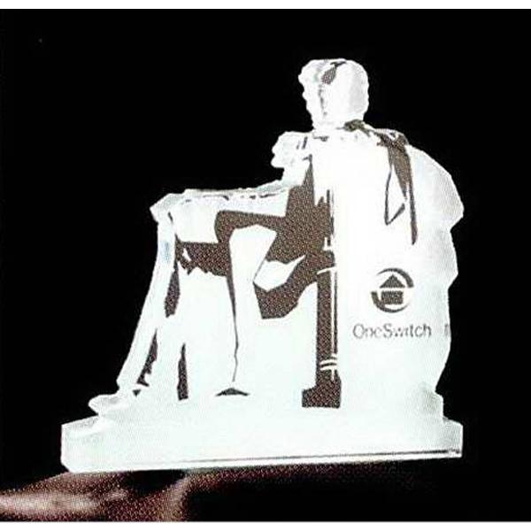 Memorial Shape Acrylic Award