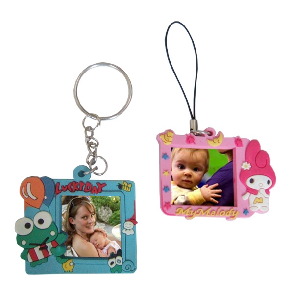 Photo frame key tag