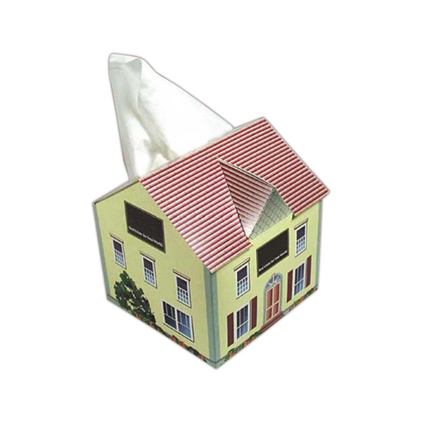 Sniftypak (tm) - House Shape Tissue Box Photo