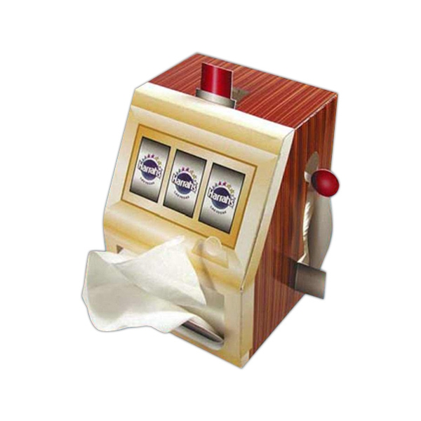 Sniftypak (tm) - Facial Slot Machine Shaped Tissue Box Photo