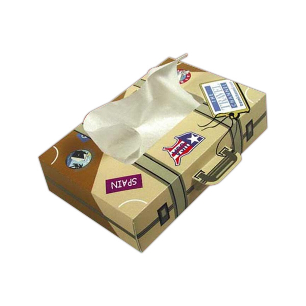 Sniftypak (tm);traveler (r) - Traveler - Suitcase - Facial Tissue Travel Tissue Box Photo