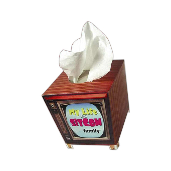 Sniftypak (tm) - Facial Tv Shape Tissue Box Photo