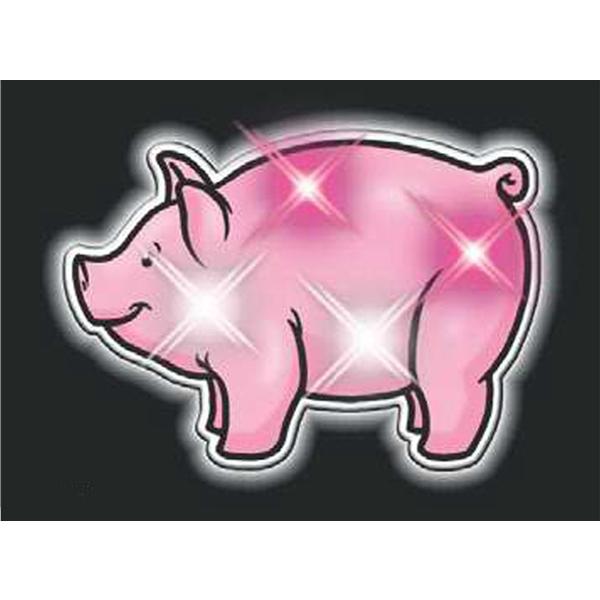 Pig magnetic flashing pin